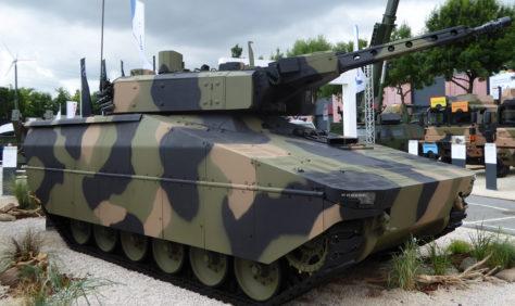 Würde sich farblich gut in die australischen Streitkräfte einfügen: Der neue Lynx. Foto: lah